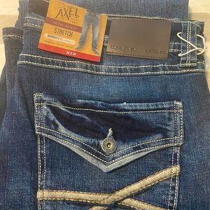 NWT TK Axel Men's Jeans 34x34
